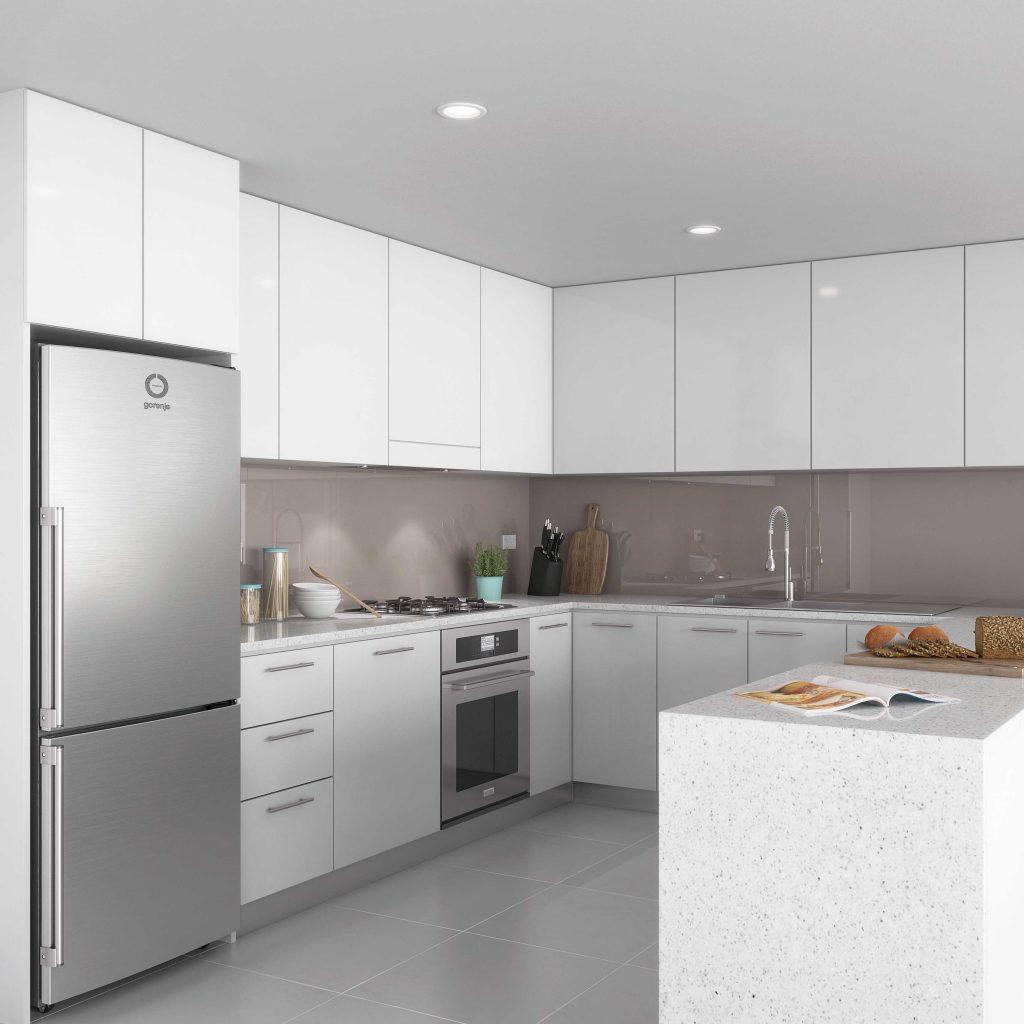Kitchen Renovation render